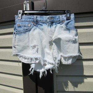 Vintage Levi's 550 Relaxed Fit Distressed Cutoffs